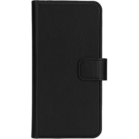 xqisit Slim Wallet Schwarz Samsung Galaxy A5 (2016) 99924789 vorne