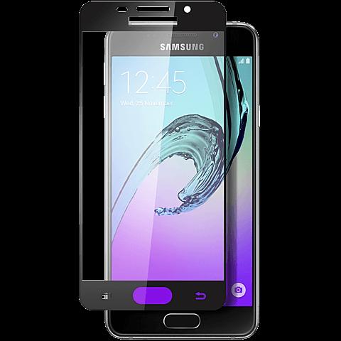Displex Full Screen Glas Samsung Galaxy A5 (2016) Schwarz 99924826 vorne