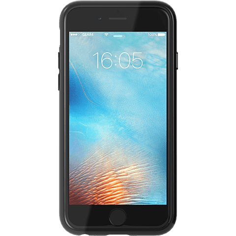 gear4 IceBox AllBlack Schwarz Apple iPhone 6s 99924841 vorne