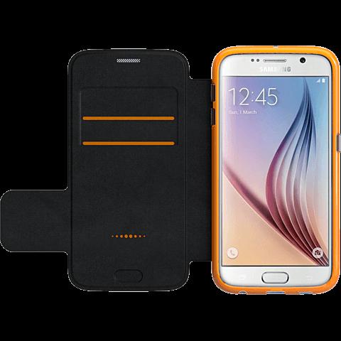 gear4 BookCase Schwarz Samsung Galaxy S6 seitlich 99924847