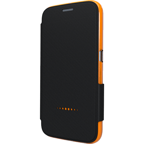 gear4 BookCase Schwarz Samsung Galaxy S6 vorne 99924847