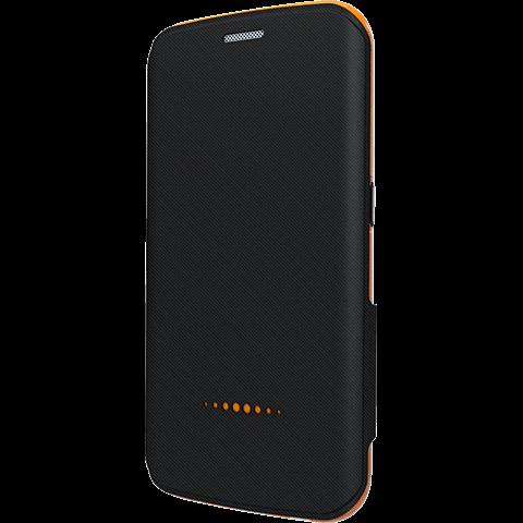 gear4 BookCase Schwarz Samsung Galaxy S6 Edge vorne 99924848