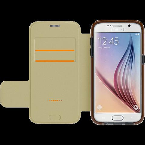 gear4 BookCase Schwarz Samsung Galaxy S7 seitlich 99924849