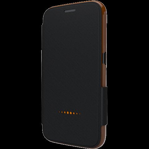 gear4 BookCase Schwarz Samsung Galaxy S7 vorne 99924849