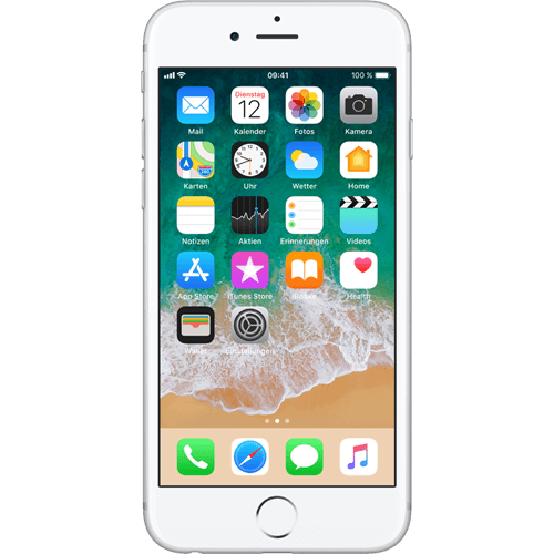 apple-iphone-6s-16gb-silber-vorne