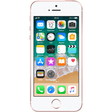 Apple iPhone SE Rosegold vorne Katalog 99924440