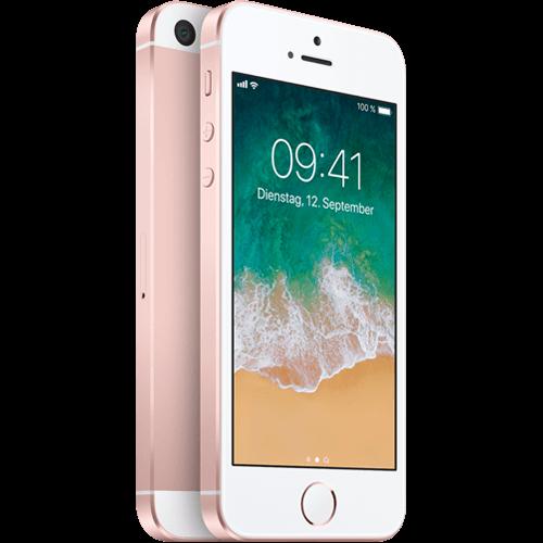 Apple iPhone SE Rosegold vorne und hinten 99924439