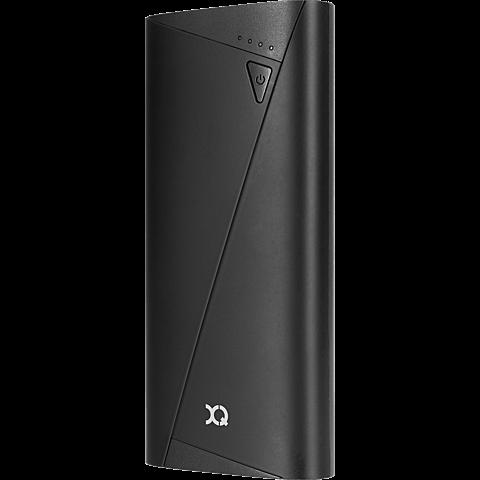 xqisit Battery Pack 10.400 mAh Schwarz 99924864 seitlich
