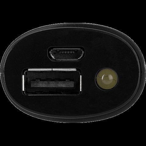 xqisit Battery Pack 2.600 mAh Schwarz 99924877 hinten