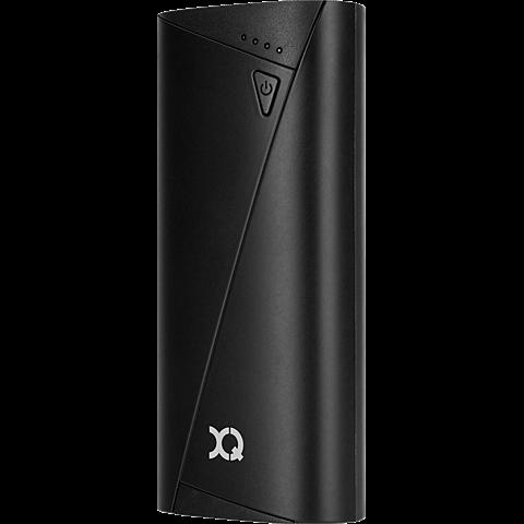 xqisit Battery Pack 5.200 mAh Schwarz 99924876 seitlich