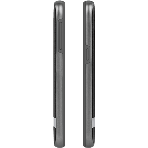 Moshi Cover iGlaze Napa Schwarz Samsung Galaxy S7 99924584 seitlich