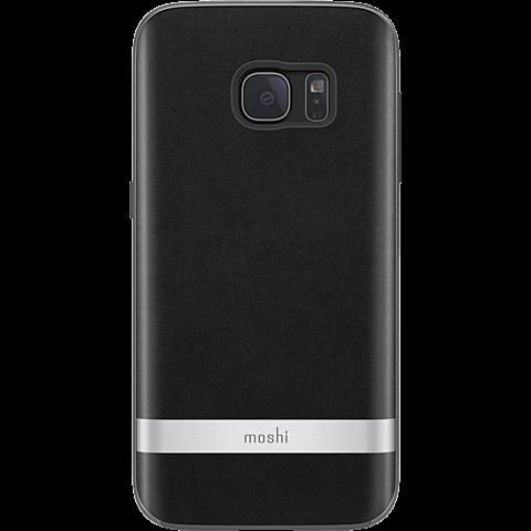 Moshi Cover iGlaze Napa Schwarz Samsung Galaxy S7 99924584 vorne