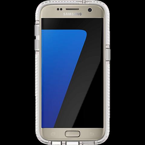 Tech21 EVO Check Cover Weiß Samsung Galaxy S7 99924531 vorne