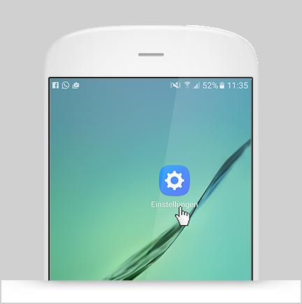 Aktivierung Roaming Android