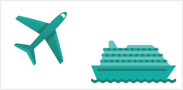 Mobilfunknutzung auf Schiffen und Flugzeugen