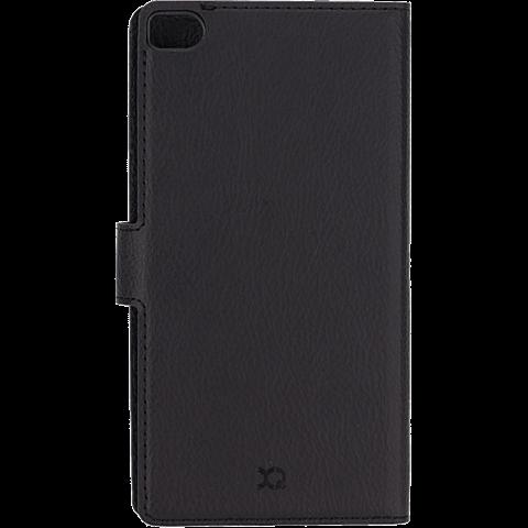 xqisit Slim Wallet Case Huawei P8 Lite Schwarz 99924522 hinten
