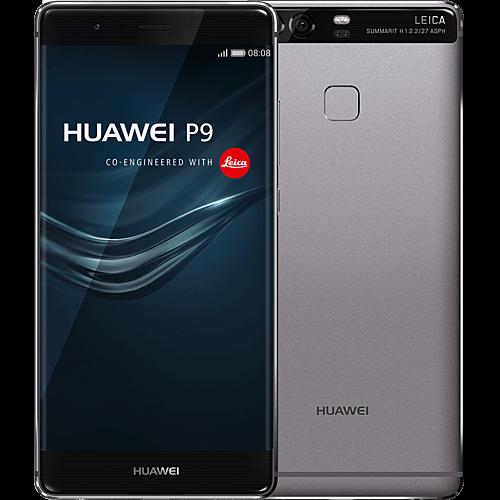 huawei-p9-grau-vorne-und-hinten