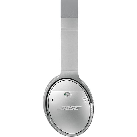 BOSE QuietComfort 35 Wireless Kopfhörer Silber 99924897 hinten