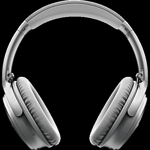 BOSE QuietComfort 35 Wireless Kopfhörer Silber 99924897 vorne