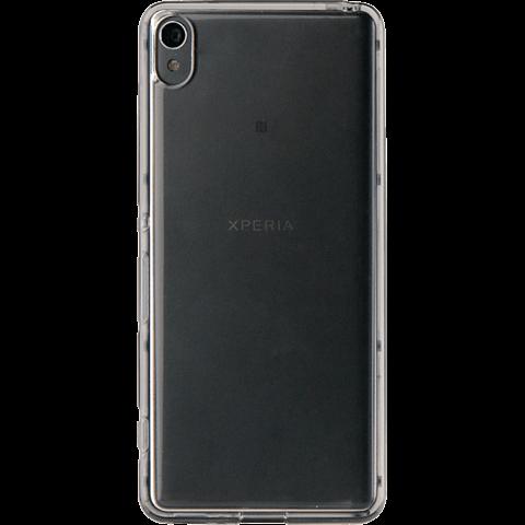 Roxfit TPU Case Schwarz Sony Xperia XA 99924928 hinten