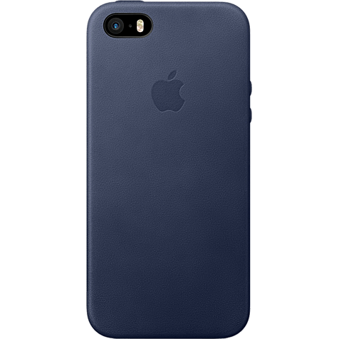 Apple iPhone SE Leder Case Mitternachtsblau  99925013 hero