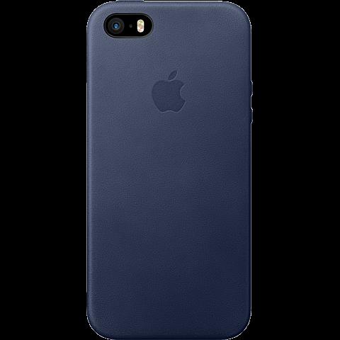 Apple iPhone SE Leder Case Mitternachtsblau  99925013 vorne