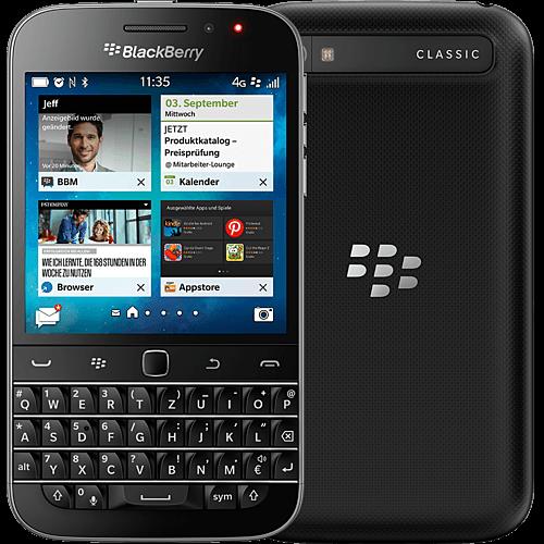 BlackBerry Classic schwarz