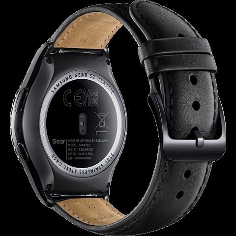 Samsung Gear S2 classic Schwarz 99924129 hinten