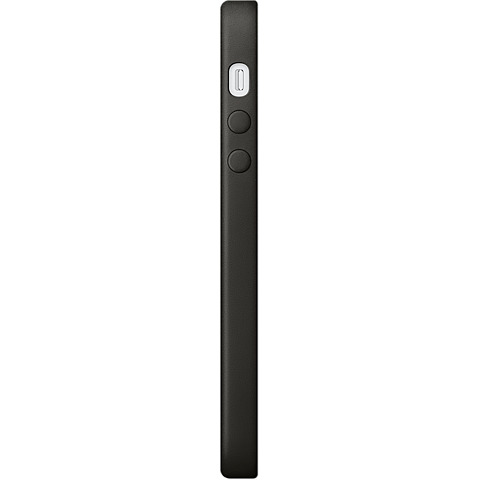 Apple Leder Case Schwarz iPhone SE 99925012 seitlich