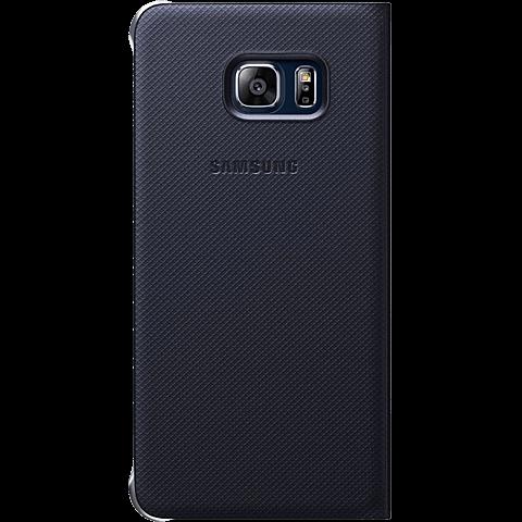 Samsung S-View Cover Samsung Galaxy S6 Edge+ Schwarz 99923970 hinten