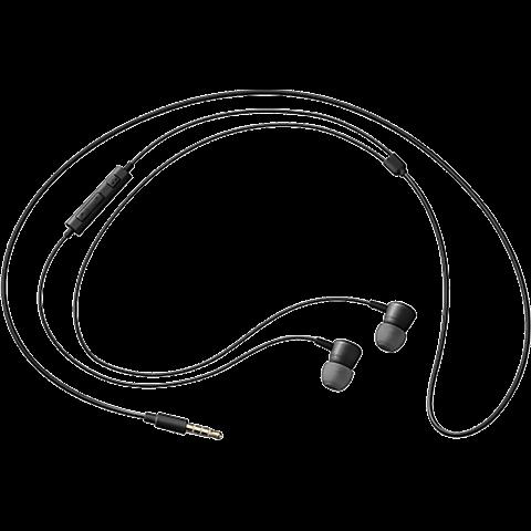Samsung Stereo-Headset 3.5 mm Schwarz 99922089 hinten