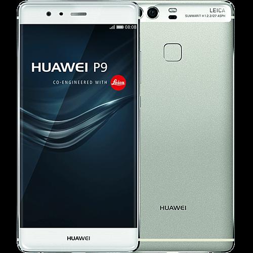 huawei-p9-silber-vorne-und-hinten