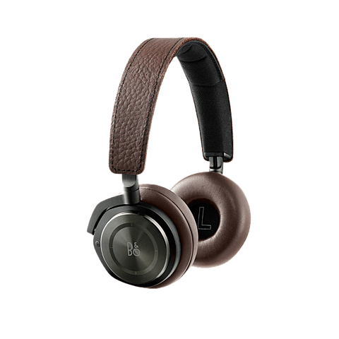 Bang & Olufsen BeoPlay H8 On-Ear Bluetooth-Kopfhörer Gray Hazel 99924012 vorne