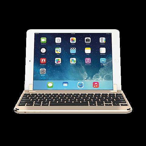 Brydge Bluetooth-Tastatur Gold Apple iPad Air 2 99924080 vorne
