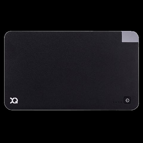 xqisit Battery Pack Lightning / Micro USB 5000 mAh Schwarz 99923891 vorne
