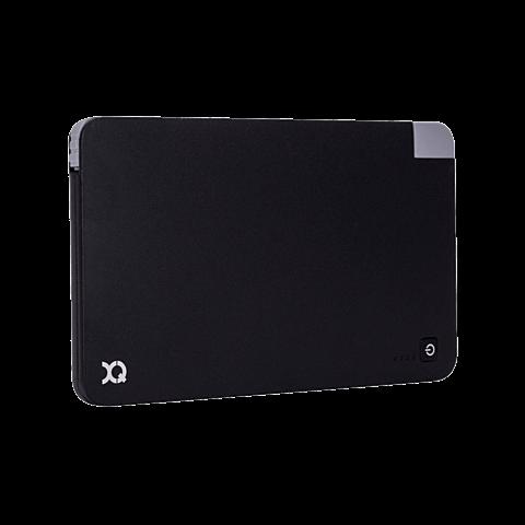 xqisit Battery Pack Lightning / Micro USB 5000 mAh Schwarz 99923891 seitlich