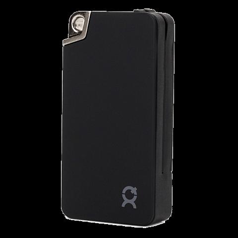 xqisit KeyChain Battery Pack Lightning / Micro-USB Schwarz 99923888 hinten