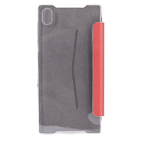 xqisit Flap Cover Adour Rot Sony Xperia Z5 Compact 99923966 hinten