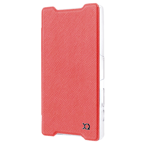 xqisit Flap Cover Adour Rot Sony Xperia Z5 Compact 99923966 seitlich