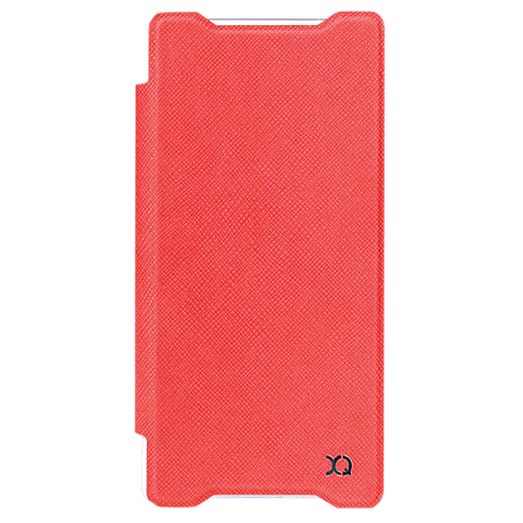 xqisit Flap Cover Adour Rot Sony Xperia Z5 Compact 99923966 vorne