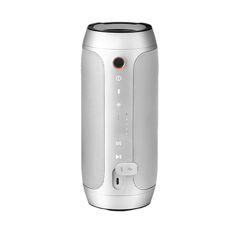 JBL Pulse 2 Bluetooth-Lautsprecher Silber 99923789 hinten