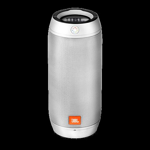 JBL Pulse 2 Bluetooth-Lautsprecher Silber 99923789 vorne