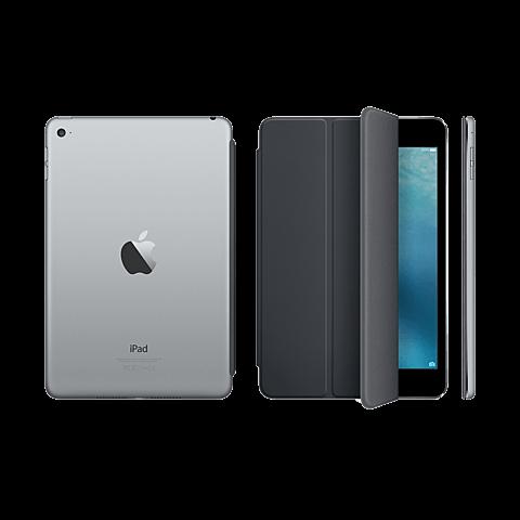 Apple Smart Cover Grau iPad mini 4 99923972 hinten