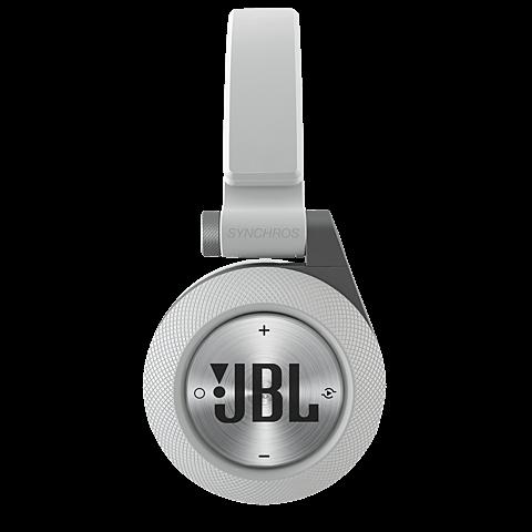 JBL E40 On-Ear Bluetooth-Kopfhörer Weiß 99925058 seitlich