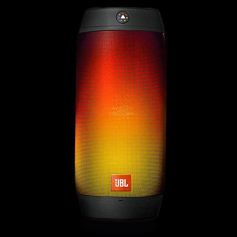 JBL Pulse 2 Bluetooth-Lautsprecher Schwarz 99923788 vorne