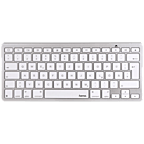 Hama KEY2GO X500 Bluetooth-Tastatur Weiß für Apple iPad 99925107 kategorie
