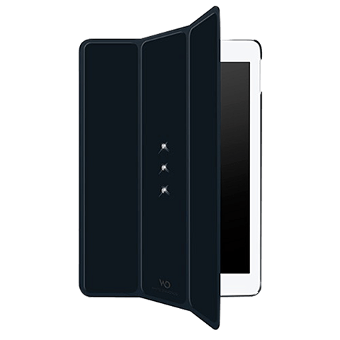 White Diamonds Booklet Crystal Schwarz Apple iPad Air 2 99925108 hinten