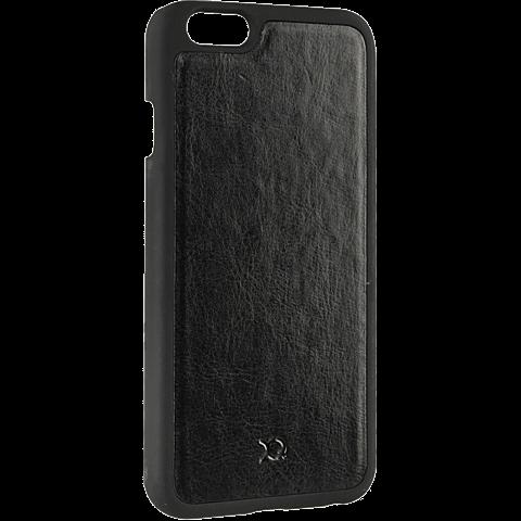 xqisit iPlate Eman Magneat Schwarz Apple iPhone 6/6s 99923768 seitlich