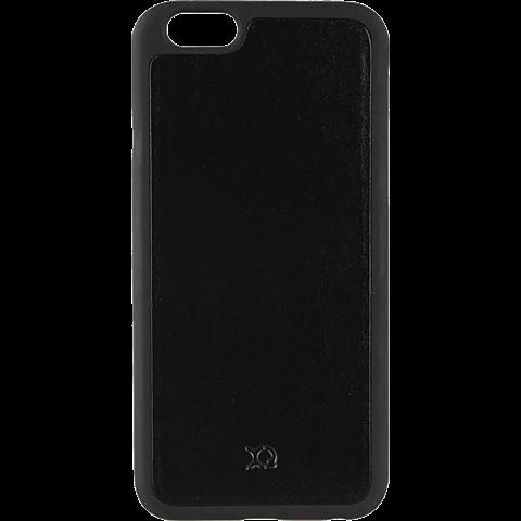 xqisit iPlate Eman Magneat Schwarz Apple iPhone 6/6s 99923768 vorne
