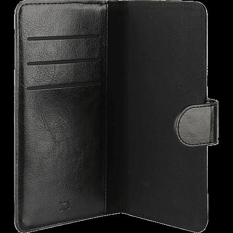 xqisit Wallet Case Eman Magneat L Schwarz 99923767 seitlich